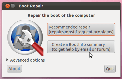 Boot-Repair image 1